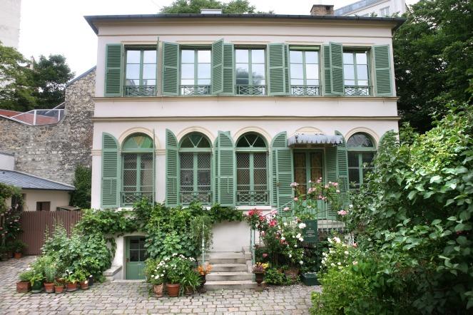 Musée de la Vie romantique (Façade maison) © D. Messina-Ville de Paris