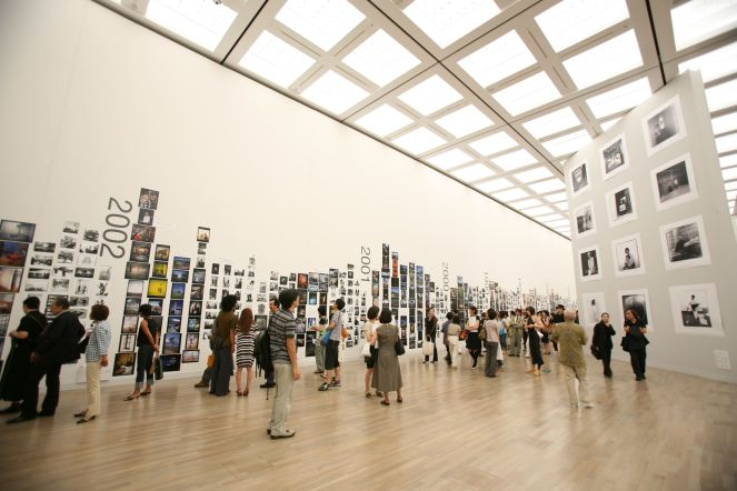 "9. The installation view in ""ANZAI Personal Photo Archives 1970-2006"".JPG"